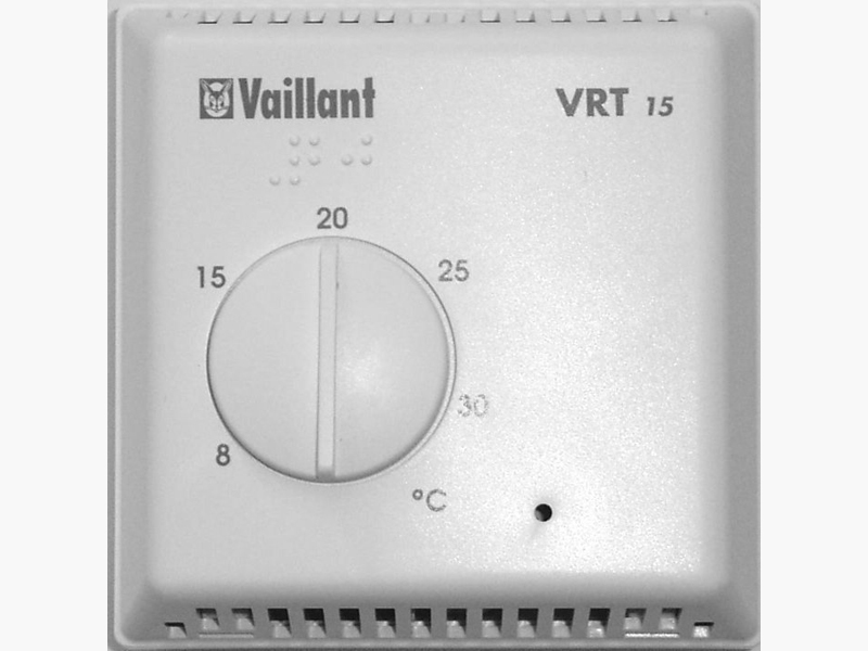 vaillant vrt15 room thermostat 306777. Black Bedroom Furniture Sets. Home Design Ideas