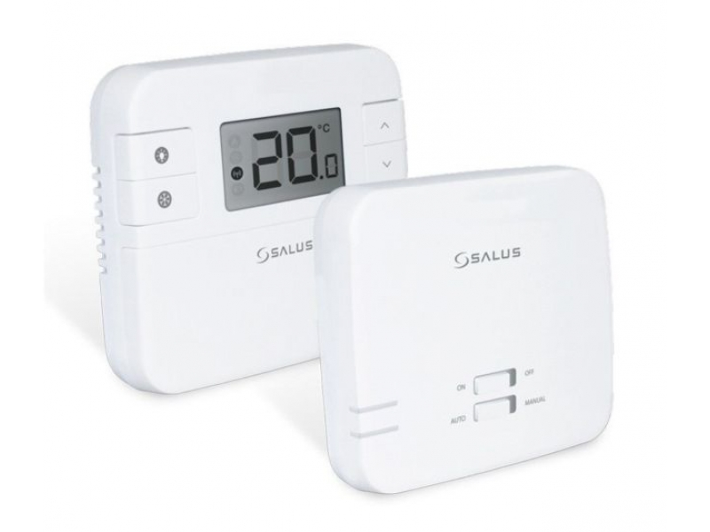 Salus_310rf_room_thermostat_and_reciever